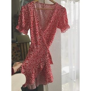 Floral casual dress never worn!! Size small